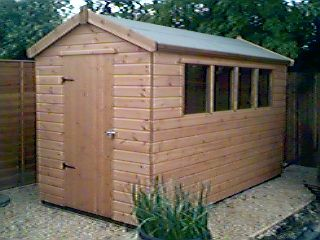 perfect garden sheds treated wooden shed brand new tongue to